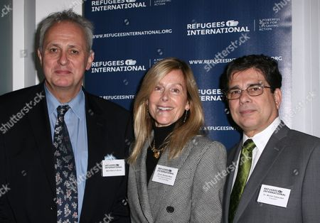 Lord Mark Malloch-Brown, Eileen Shields-West and Michel Gabaudan