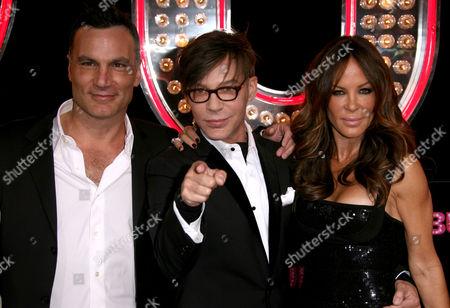 Jonathan Antin, Steve Antin and Robin Antin