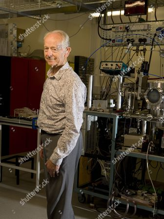 Editorial picture of Dr Russell Stannard in the Laboratory at the Open University in Milton Keynes, Britain - 10 Sep 2010