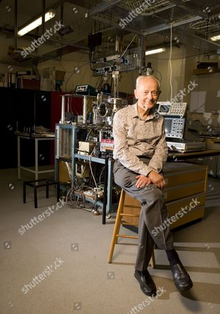 Editorial photo of Dr Russell Stannard in the Laboratory at the Open University in Milton Keynes, Britain - 10 Sep 2010