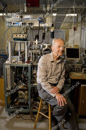 Editorial image of Dr Russell Stannard in the Laboratory at the Open University in Milton Keynes, Britain - 10 Sep 2010
