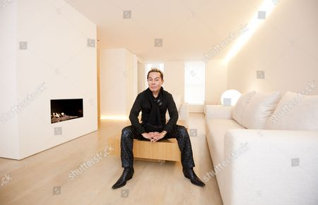 Editorial picture of Yuki Torimaru in his home at Chester Square, Belgravia, London, Britain - 18 Oct 2010