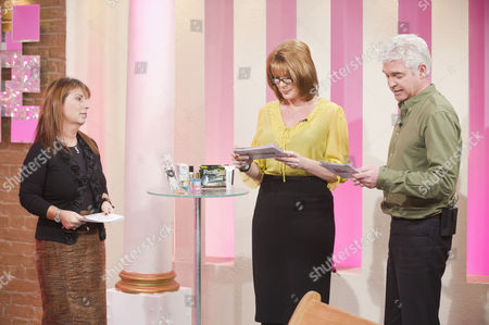 Jo Hemming, Ruth Langsford and Phillip Schofield