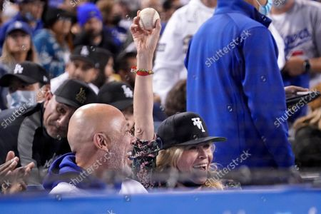 Editorial photo of Padres Dodgers Baseball, Los Angeles, United States - 28 Sep 2021