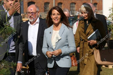 Princess Marie visited the Madens Folkemode and the Collaborating Merchants Samvirkende Kobmaends honorary award for a special effort in the fight against food waste in Engestofte Gods, Maribo