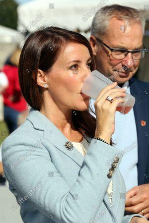 Editorial image of Princess Marie visit to Engestofte Gods, Maribo, Denmark - 25 Sep 2021