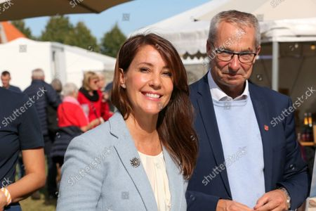 Editorial picture of Princess Marie visit to Engestofte Gods, Maribo, Denmark - 25 Sep 2021