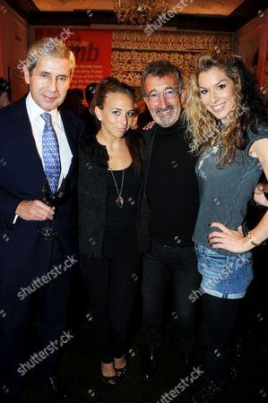 Sir Stuart Rose, Chloe Green, Eddie Jordan and Stasha Green