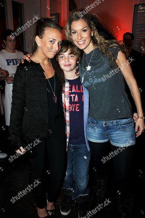 Chloe Green, Stasha Green and son