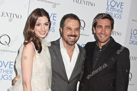 Anne Hathaway, Ed Zwick, director and Jake Gyllenhaal