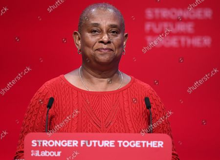 Doreen Lawrence during the Labour party conference