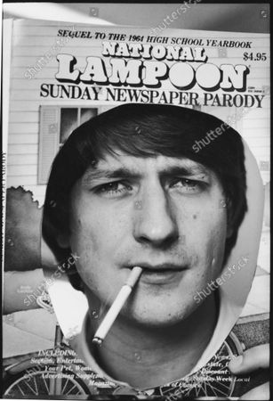 Editor-in-chief of NATIONAL LAMPOON P. J. O'Rourke.