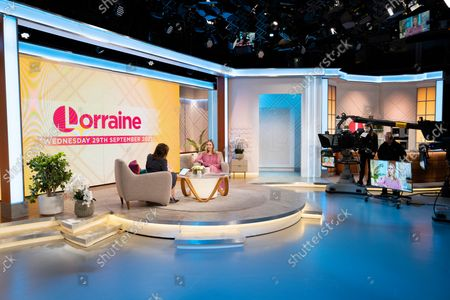 Editorial picture of 'Lorraine' TV show, London, UK - 29 Sep 2021