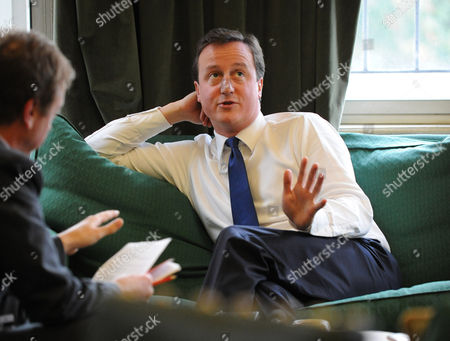 David Cameron interview with Evening Standard Editor Geordie Greig