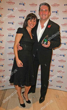 Tony Hadley And Esther Hall At London Awards 2009