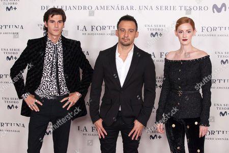 Alvaro Mel, Alejandro Amenabar and Ana Polvorosa