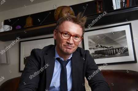 Editorial photo of Hugh Hendry of Eclectica Asset Management at home in London, Britain - 15 Oct 2010