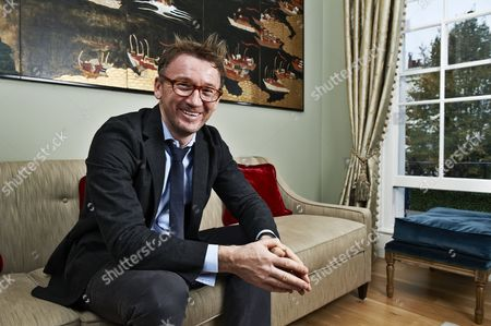 Editorial image of Hugh Hendry of Eclectica Asset Management at home in London, Britain - 15 Oct 2010