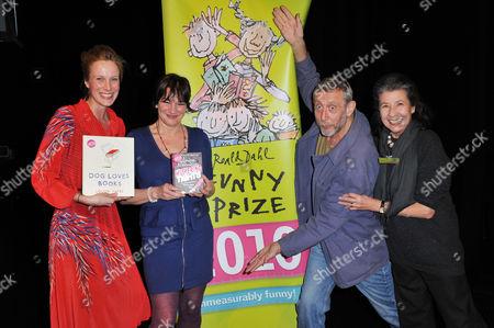 Louise Yates, Louise Rennison, Michael Rosen and Felicity Dahl