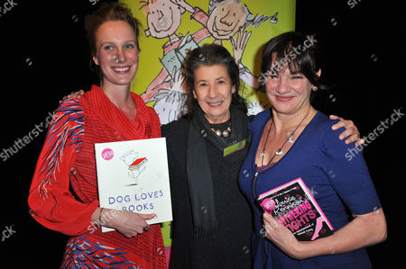 Louise Yates, Felicity Dahl and Louise Rennison