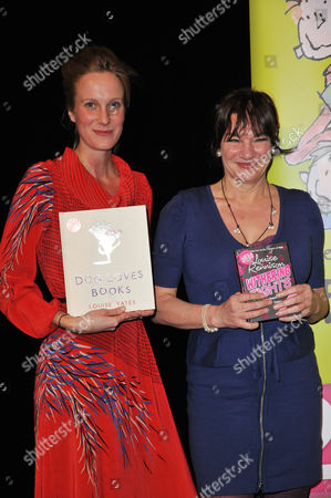 Louise Yates and Louise Rennison