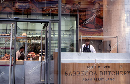 Stock Image of Barbecoa Butchery, City of London, Britain