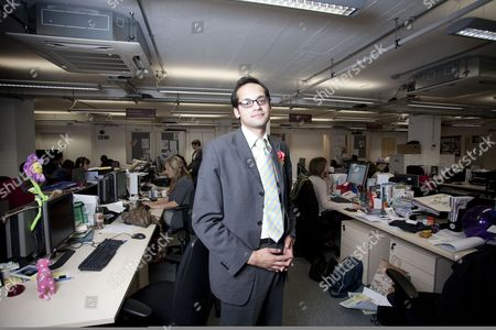 Editorial image of Aaron Porter, President of the National Union of Students at their headquarters in London, Britain - 11 Nov 2010