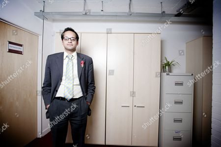 Editorial photo of Aaron Porter, President of the National Union of Students at their headquarters in London, Britain - 11 Nov 2010