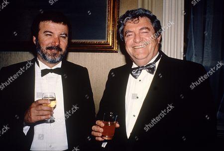 Stock Picture of Menahem Golan and Yoram Globus