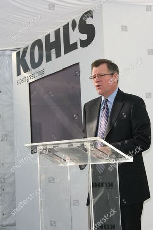 Stock Photo of Kevin Mansell Chairman and CEO of Kohl's