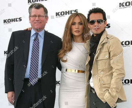 Editorial photo of Jennifer Lopez And Marc Anthony Announce Plans to Launch Lifestyle Brands at Kohl's, Los Angeles, America - 18 Nov 2010