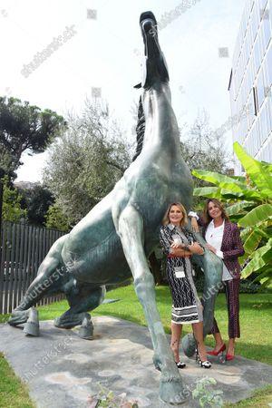 Paola Perego and Simona Ventura