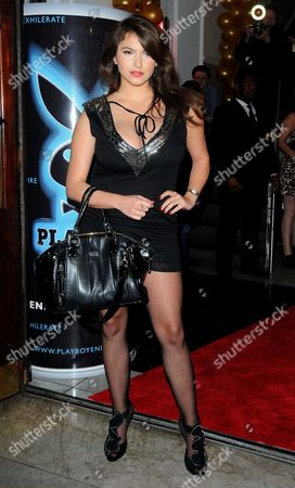 Editorial photo of Launch of the Playboy Energy Drink, Funky Buddha, London, Britain - 18 Nov 2010