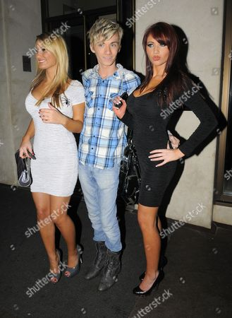 Sam Faiers, Harry Darbidge and Amy Childs
