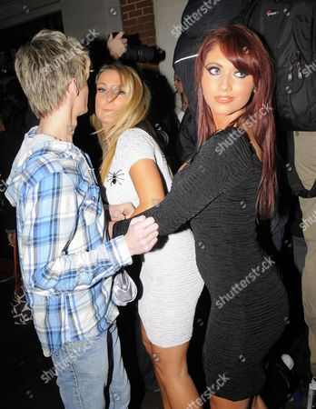 Editorial image of Amy Childs, Harry Darbidge and Sam Faiers out and about, London, Britain - 18 Nov 2010