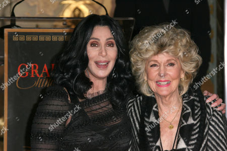 Editorial image of Cher Honored With Handprint and Footprint Ceremony, Los Angeles, America - 18 Nov 2010
