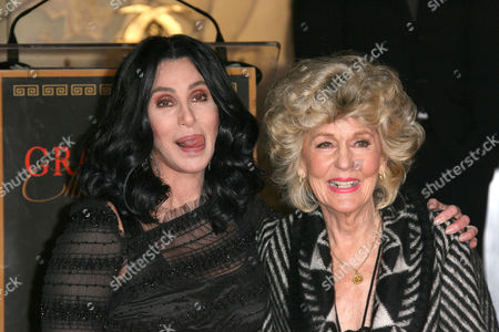 Editorial photo of Cher Honored With Handprint and Footprint Ceremony, Los Angeles, America - 18 Nov 2010