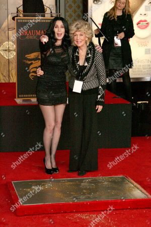 Cher and mother Georgia Holt