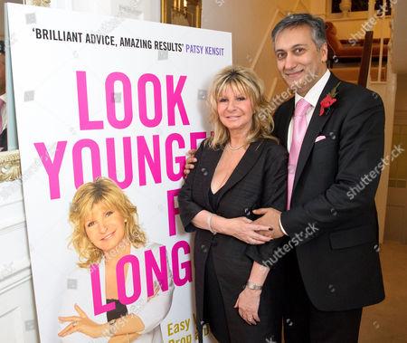 Lesley Reynolds Khan and her husband Dr Aamer Khan