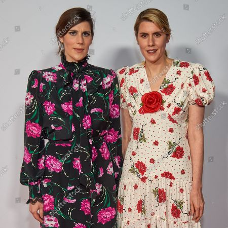 Stock Photo of Laura Mulleavy and Kate Mulleavy