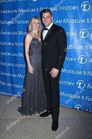 Stock Photo of Sarah Arison and Eric Masella