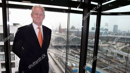 Editorial image of Rick Haythornwaite, Chairman of Network Rail, at his offices in central London, Britain - 28 Sep 2010