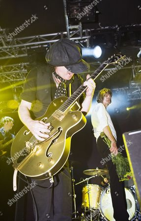 New York Dolls in concert in Edinburgh, Scotland - Sylvain Sylvain
