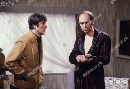 Brian Croucher and Stephen Yardley