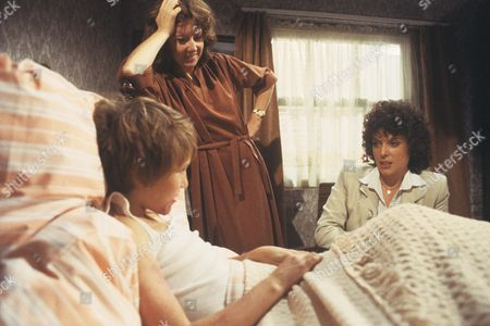 Lee Whitlock and Rosemary Martin with Jill Gascoine