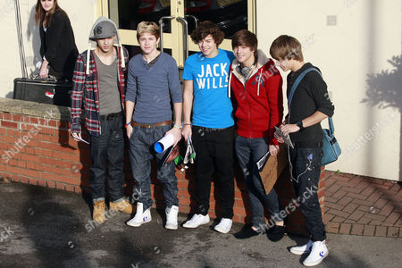 One Direction - Zayn, Niall, Harry Louis and Liam
