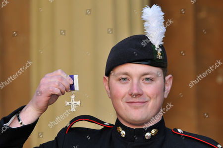 Stock Image of Corporal David Williams, The Royal Welsh. The Military Cross