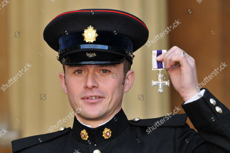 Staff Sergeant Gareth Wood, The Royal Logistic Corps. The Military Cross