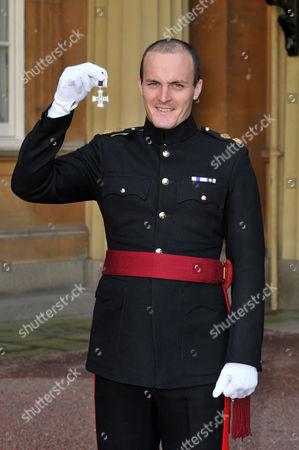 Stock Photo of Lieutenant Craig Shephard, Grenadier. The Military Cross