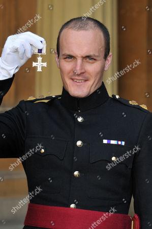 Stock Image of Lieutenant Craig Shephard, Grenadier. The Military Cross